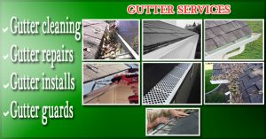 Residential and Commercial Gutter Cleaning Services in Montgomery County Maryland by PowerWashCompany.com