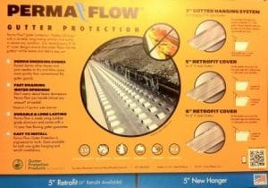 Permaflow Gutter Guard Installations By PowerWashCompany.com