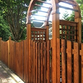 Fence cleaning services