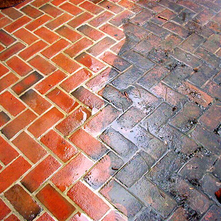 Brick Patio Cleaning Services