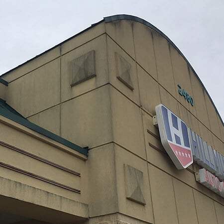 Exterior Building Cleanup