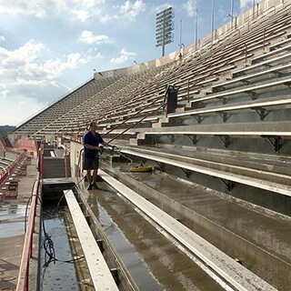 Power Washing and Stadium Cleaning Services