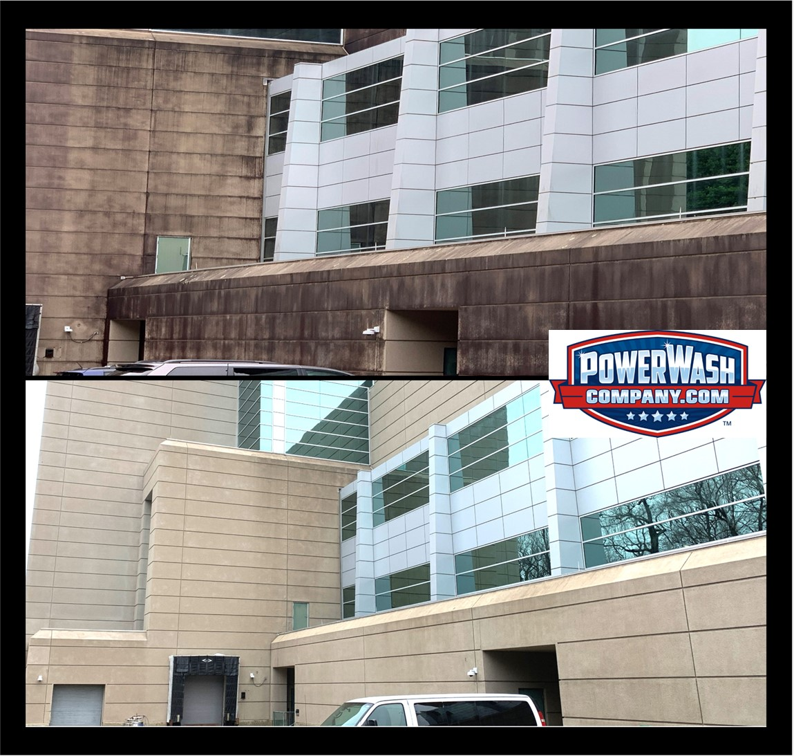 Army Labratory EIFS Exterior Building Cleaning and Power Washing Services